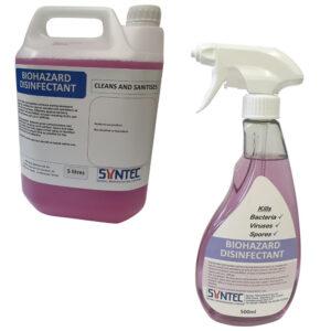 Biohazard Disinfectants