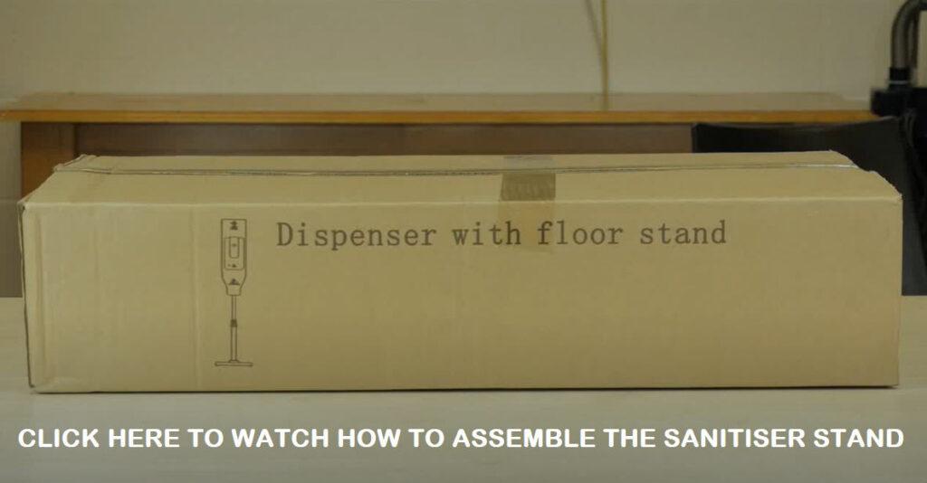 Hand Sanitiser Video Assembly Instructions