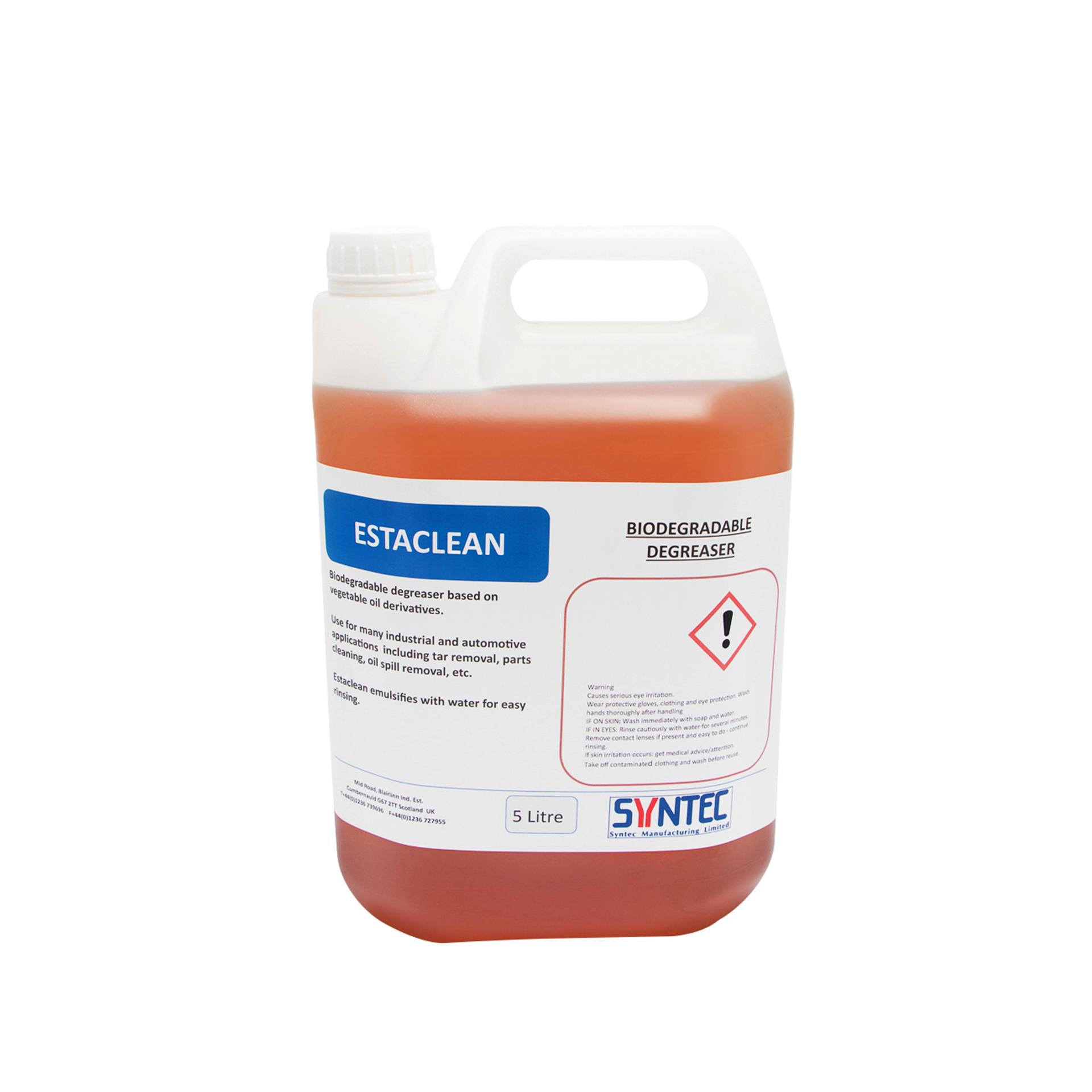 Heavy Duty Biodegradable Degreaser - Estaclean